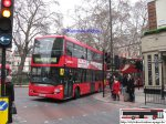 Bus PS128 London Doppeldecker