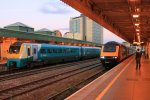 Cardiff Central - Arriva 175 and First HST - October 2011