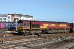 66 050 der EWS in Bristol - October 2011