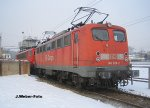 Elok 140 028-2 - Eisenach - Winter 2010