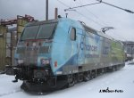 DB-Elok 185 152-6 - Eisenach - Winter 2010