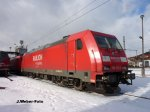 DB-Elok 185 272-2 - Eisenach - Winter 2010